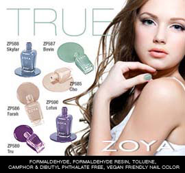 Zoya Nail Polish: True Collection