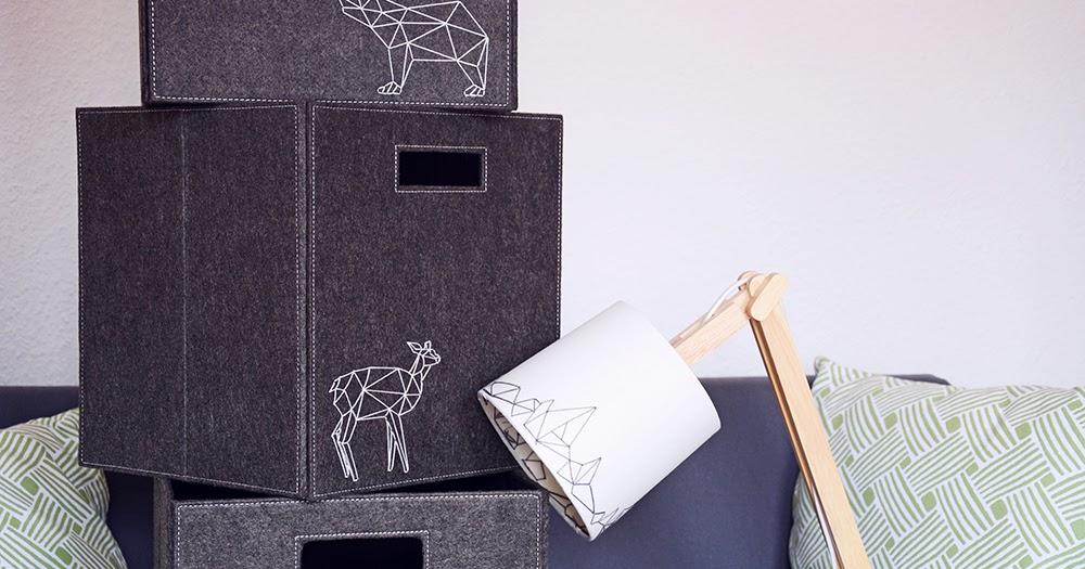 rotkehlchen diy embroidered felt boxes on. Black Bedroom Furniture Sets. Home Design Ideas