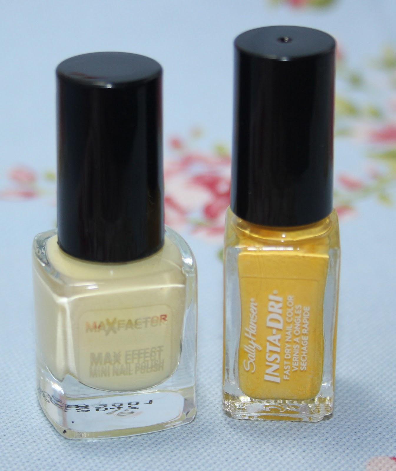 how to keep white nail polish clean