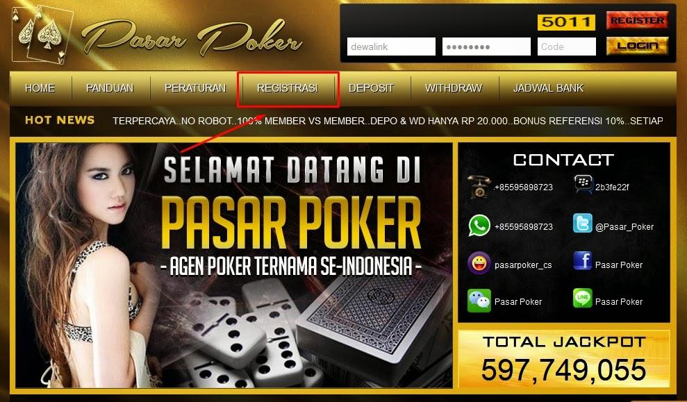 Daftar Judi Poker Online Domino 99 Kiu Kiu PasarPoker.com