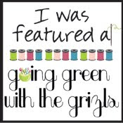 Going Green with the Grizls link party feature