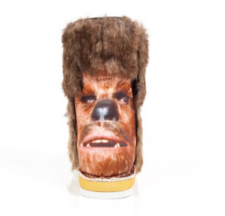 Chewbacca booties from Irregular Choice