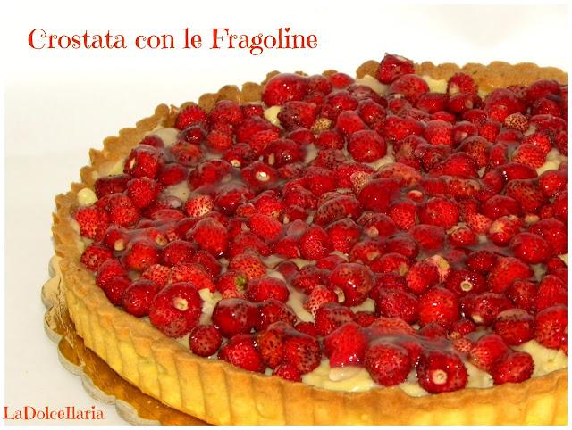 crostata crema e fragoline