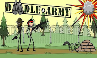 Screenshots of the Doodle Army for Android tablet, phone.