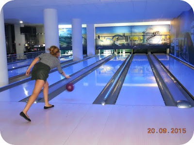 Daniela Micu la bowling