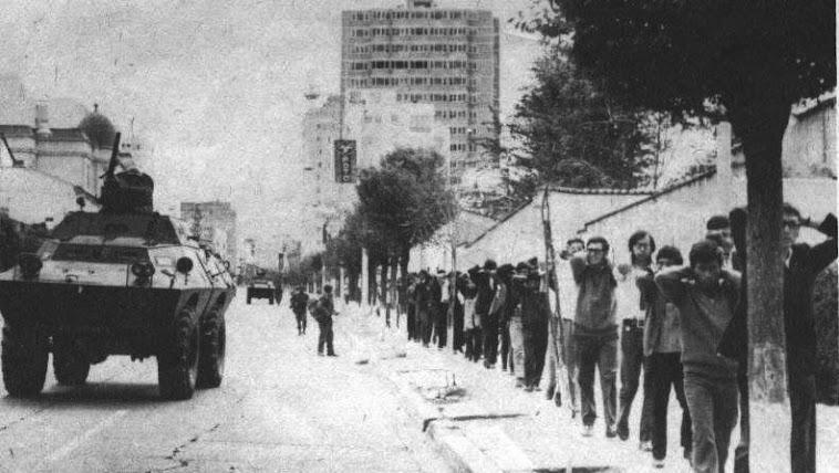 El golpe  de 1971