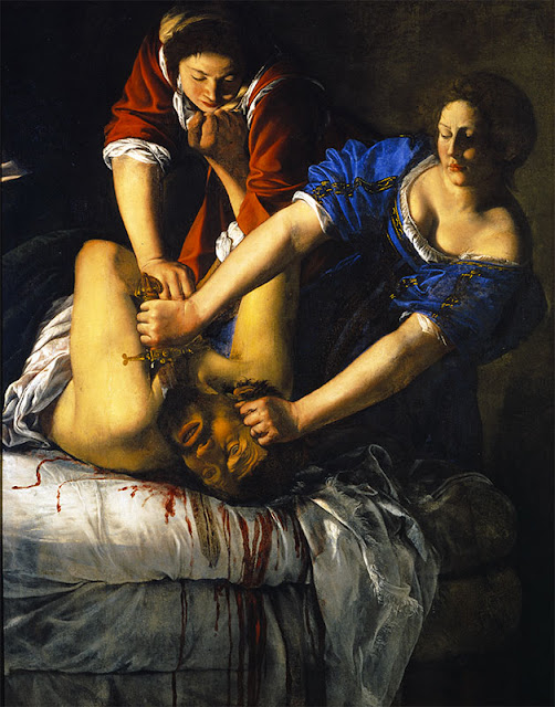 Artemisia Gentileschi, Judith et Holopherne, © Fototeca Soprintendenza per il PSAE e per il Polo museale della città di Napoli