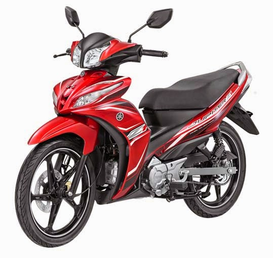 Yamaha Jupiter Z1 Red Speedy