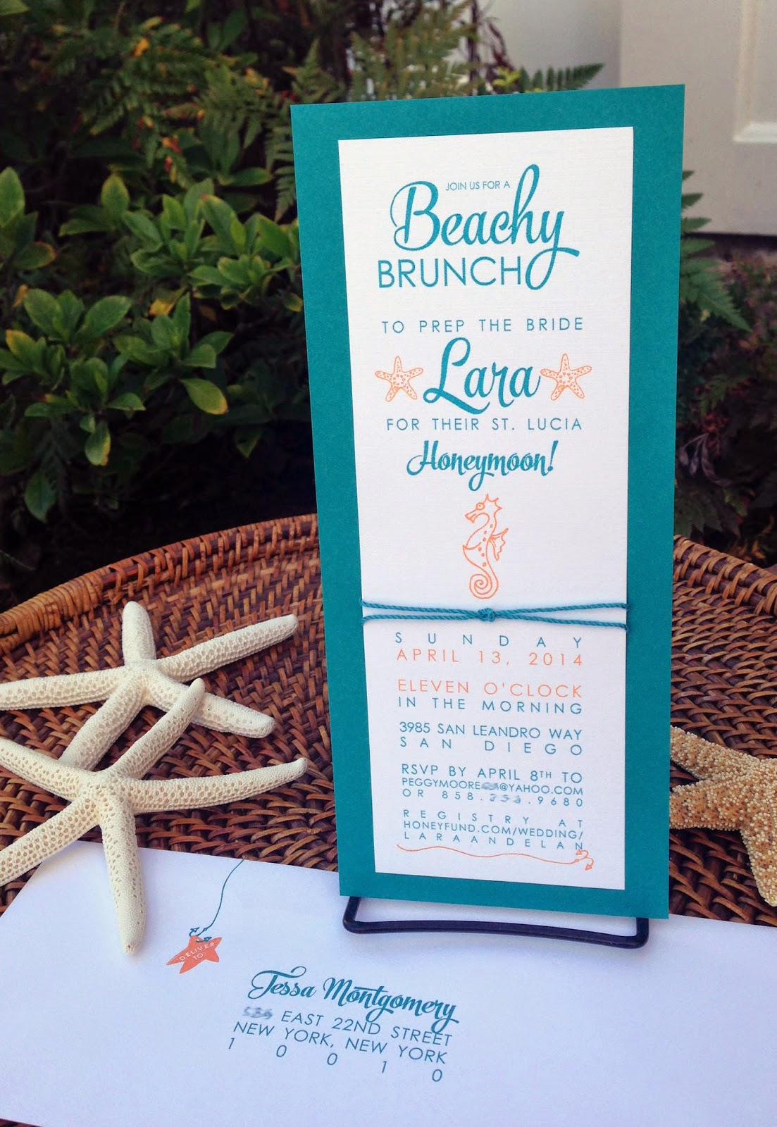 grant ink such beachy bridal shower invitations