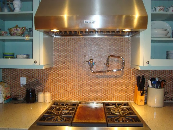 jelinek cork mosaic backsplash