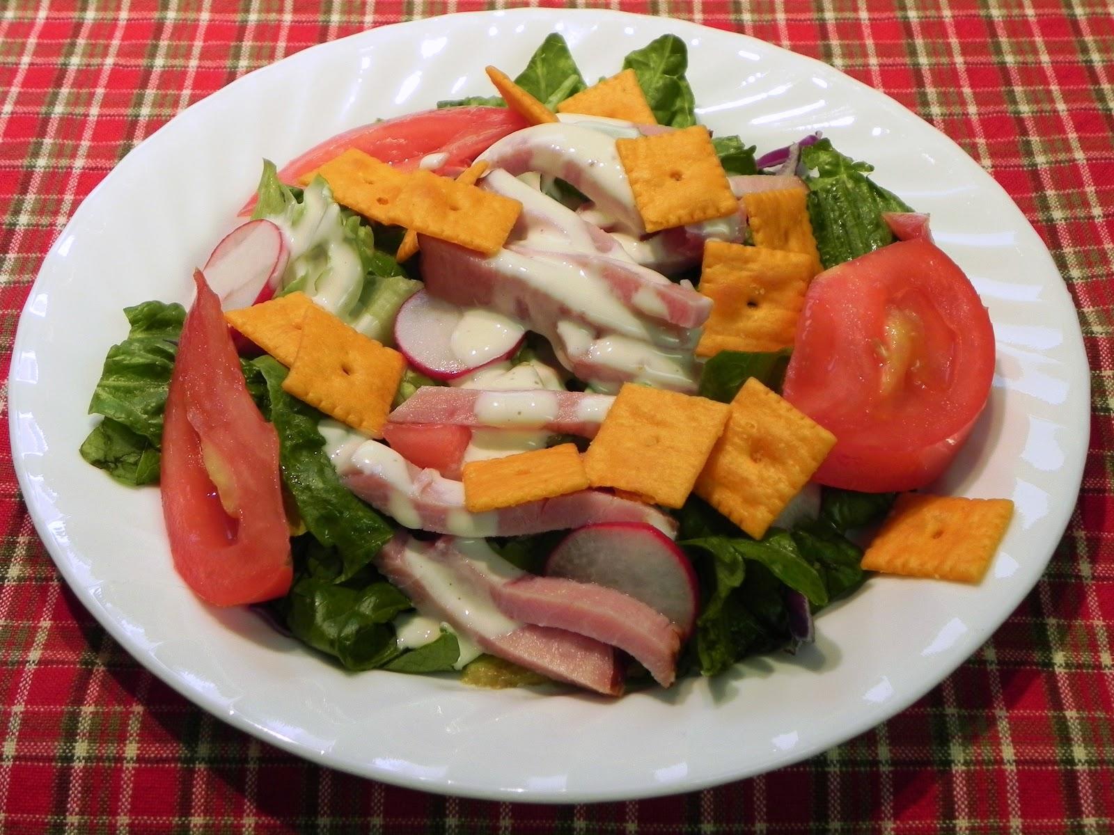 how to make a crisp salad
