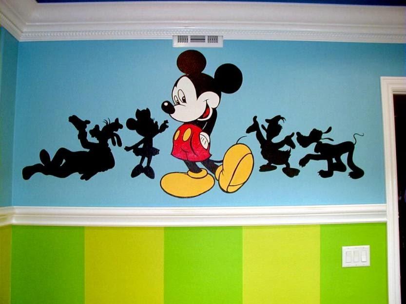 Paint house quer taro murales decorativos para escuelas for Murales decorativos pared