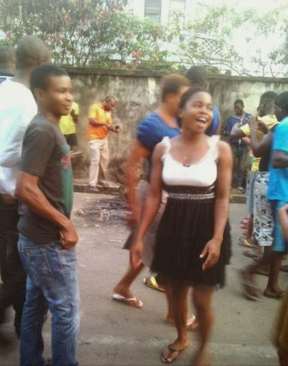 Suspected robber set ablaze in Calabar