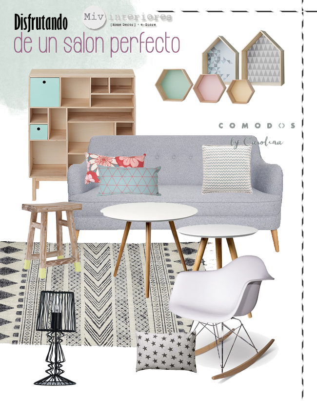 wishlist Salones Comodoos Interiores