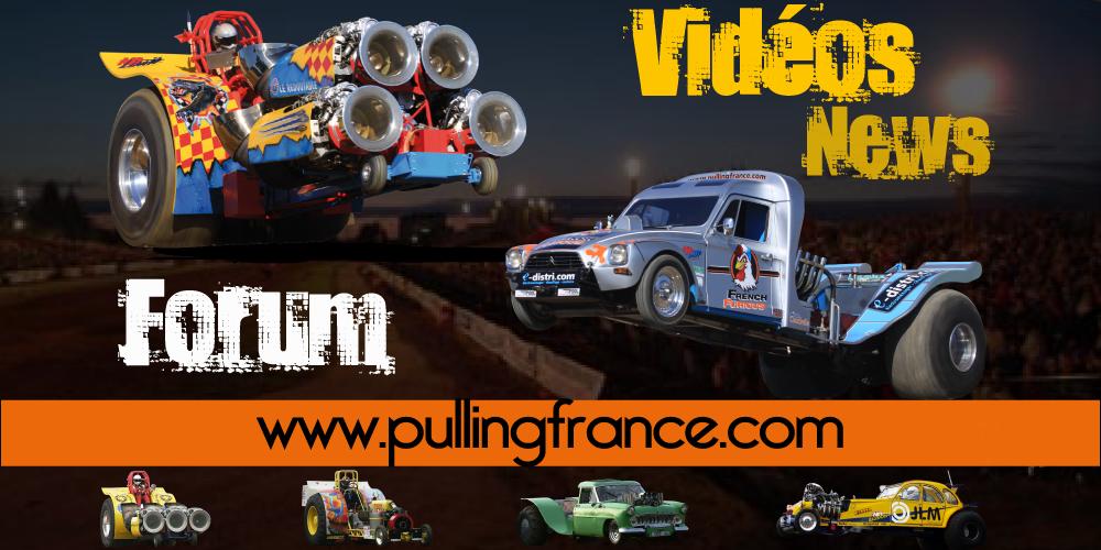 Pulling France : toute l'actualité du Tracteur Pulling