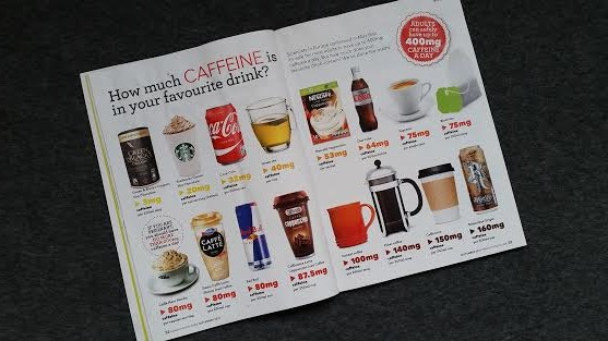 caffeine - how much is too much? healthy food guide my general life magazine.co.uk