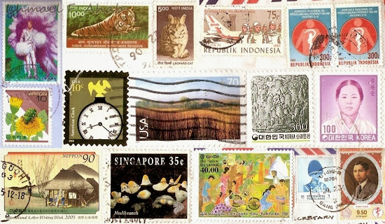 Stamps from other countries