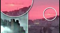Riesige mysteriöse Stadt in den Wolken über Foshan Guangdong - Ogromne tajemnicze miasto w chmurach