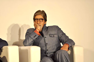 Big B at Press conference of KBC 6