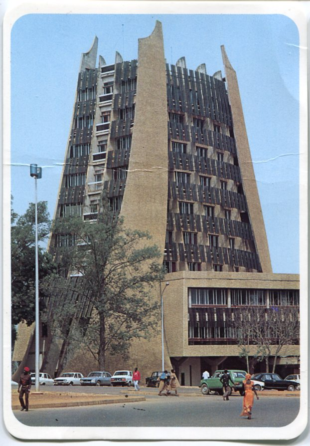 Architectures de cartes postales 1 ma lle l 39 africaine for Architecture africaine
