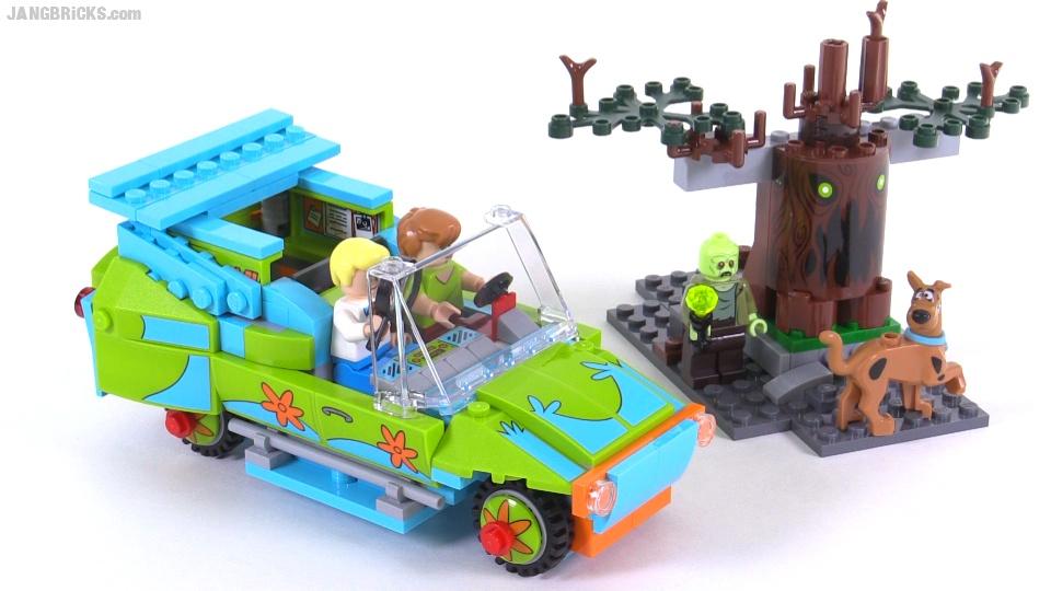 how to build lego scooby doo
