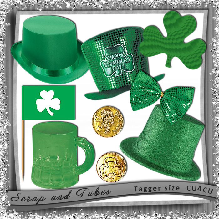 St-Patrick's Day Elements (CU4CU) .St-Patrick%2527s+Day+Elements_Preview_Scrap+and+Tubes