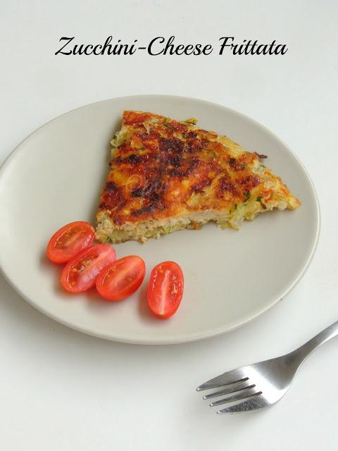 Zucchini Cheese Frittata