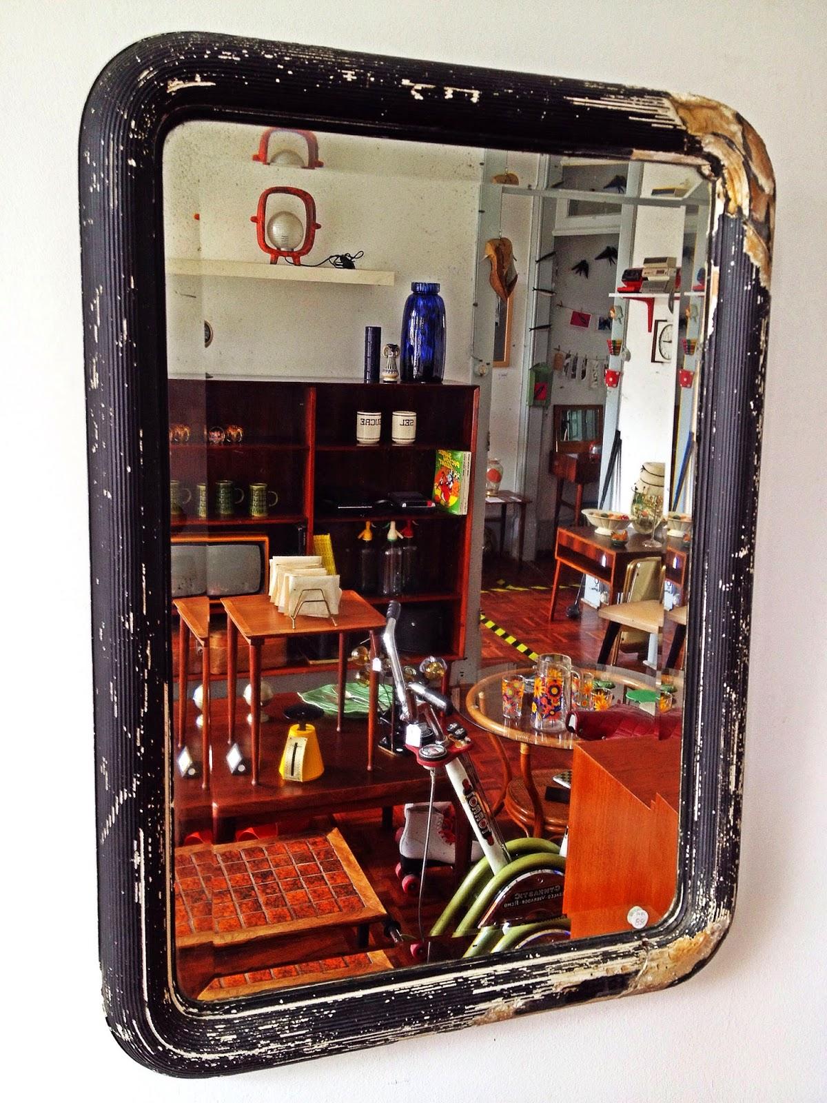 vintage mirror, espejo vintage, espelho vintage, vintage shop, loja vintage