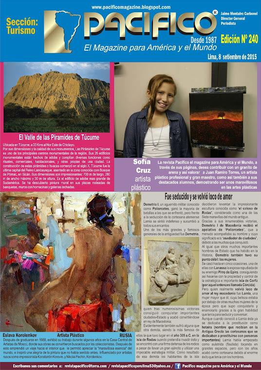 Revista Pacífico Nº 240 Turismo