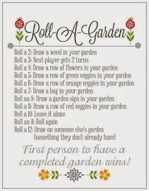 Roll-A-Garden {Fun Dice Game W/ Printable}