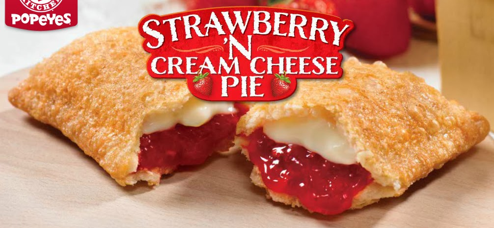 The Shit I Eat: Popeye's Strawberry 'N Cream Cheese Pie