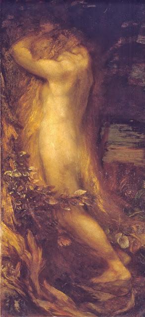 Eve,garden of eden,symbolist art