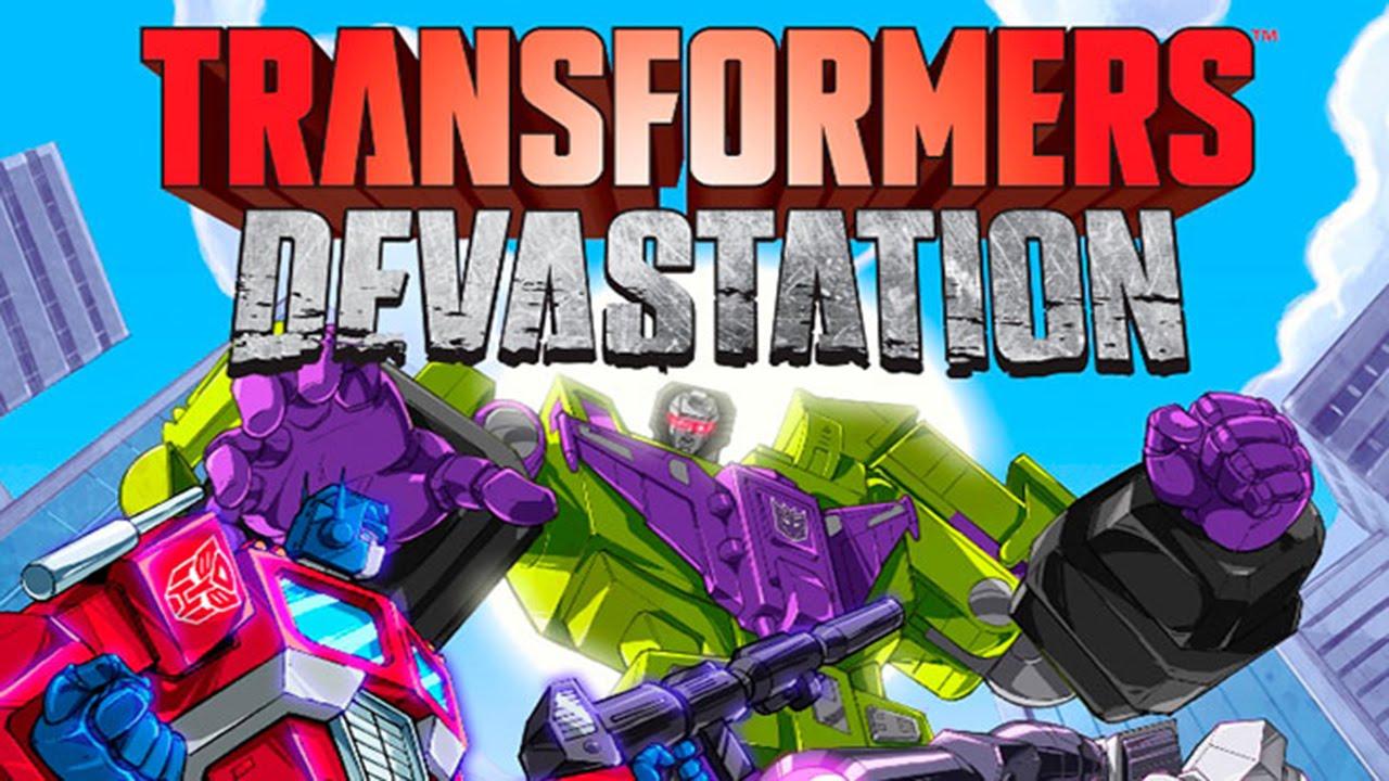 Скачать transformers devastation на пк