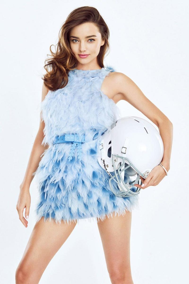 Miranda Kerr goes glamorous for Trends Health July 2015 magazine