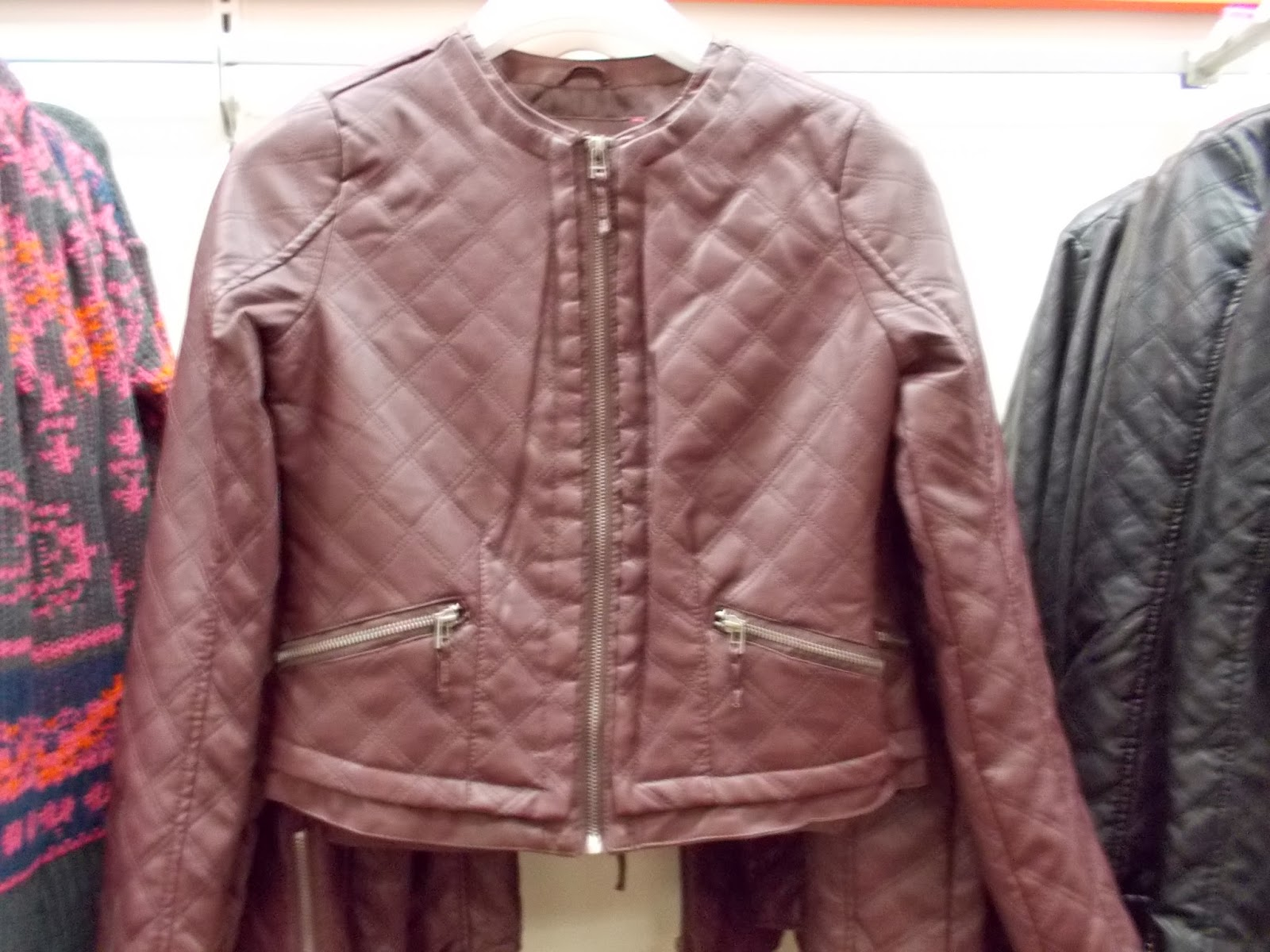 Leather jacket target - These Faux Leather Jackets Are Similar To A Free People Version I Found At Marshalls Two Months Ago