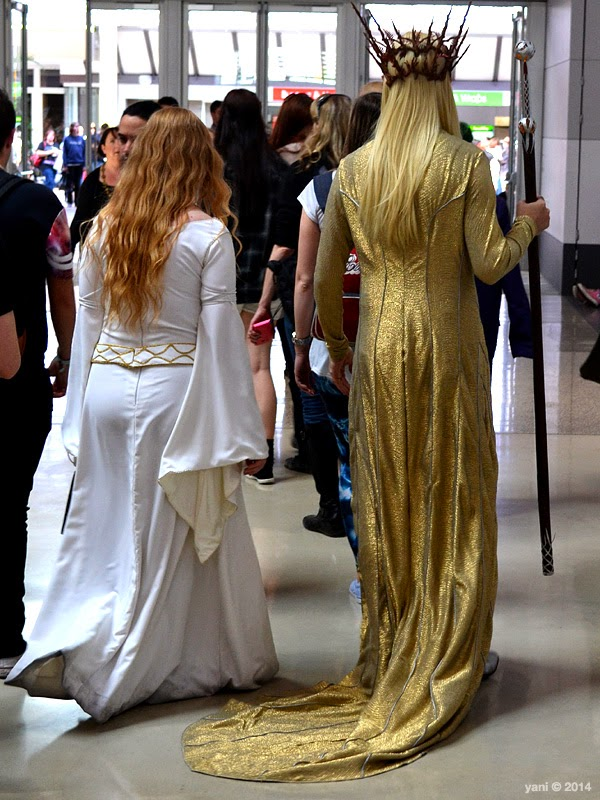 oz comic-con adelaide - thranduil's train