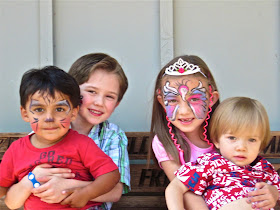 Cutest Niece, Nephews, and Aries!