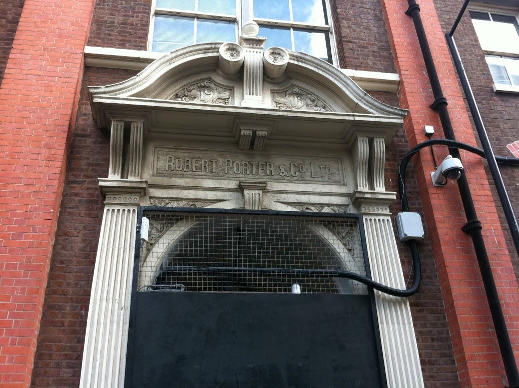 Old sign in Crinian Street, Kings Cross London