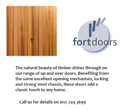 Timber garage doors from Fort Doors