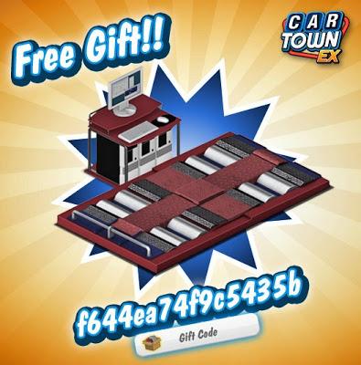 Hola, Car Town EX tiene un regalo para nosotros!!!