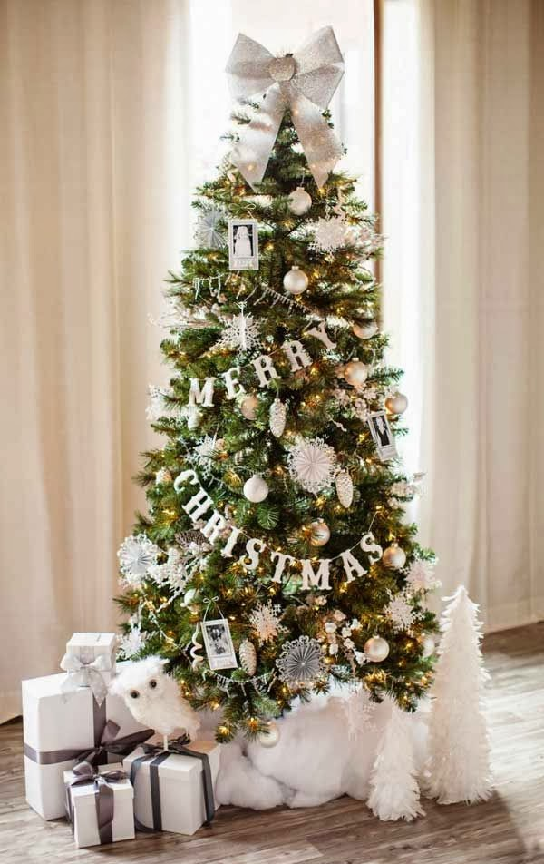 Christmas Trees Decorated Amusing Of Christmas Tree Decorating Ideas Photo