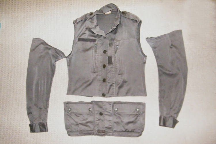 Jacket Refashion Tutorial