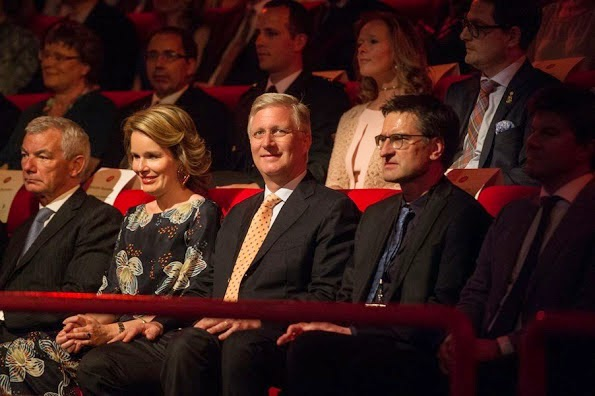 Belgian Royal Couple Attends A Concert In Brussels