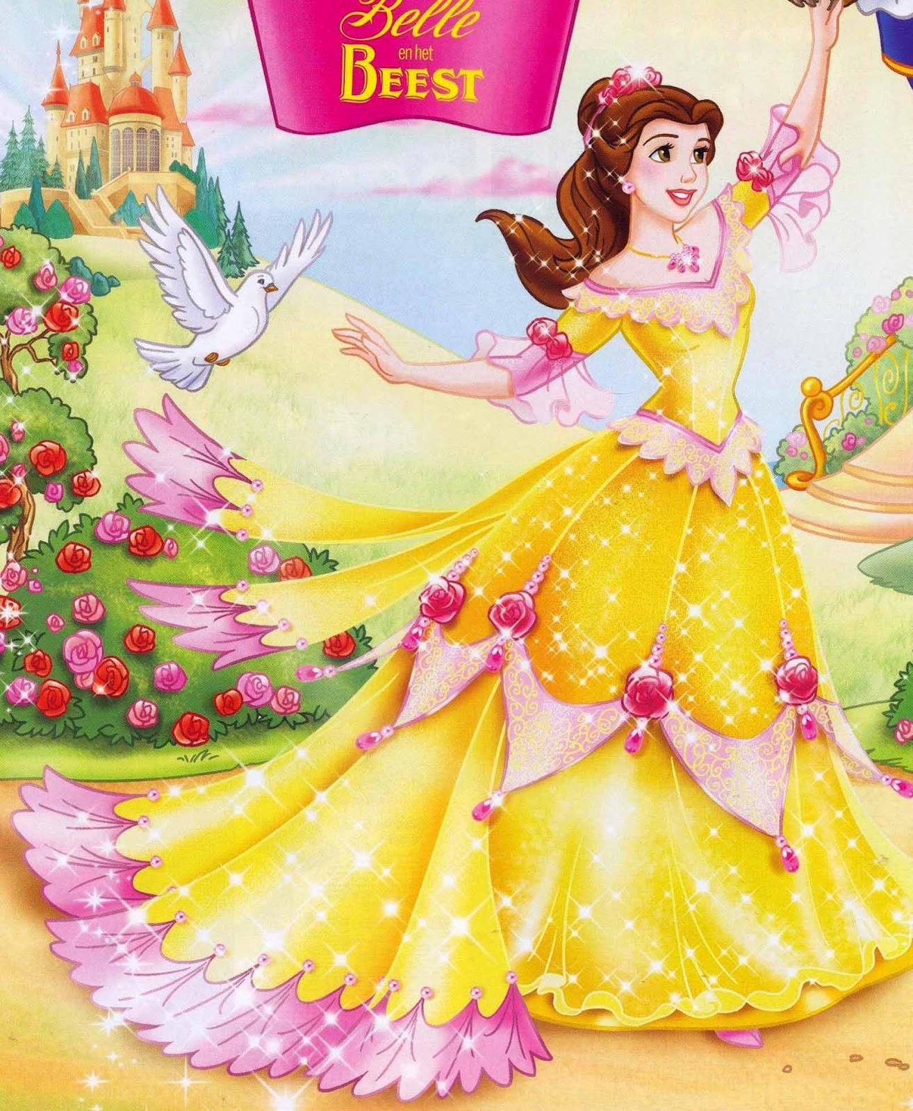 Disney Princess Belle Christmas Wallpaper