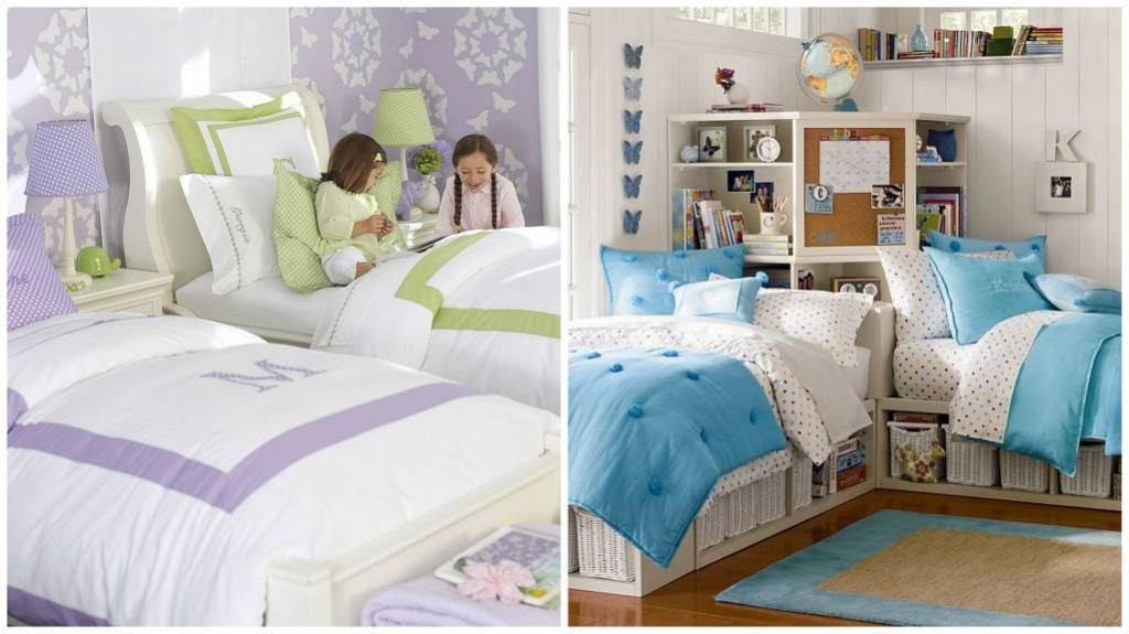 Des chambres communes pour vos enfants d cor de maison for Bedroom ideas for siblings sharing