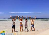 tourist in karimun java island
