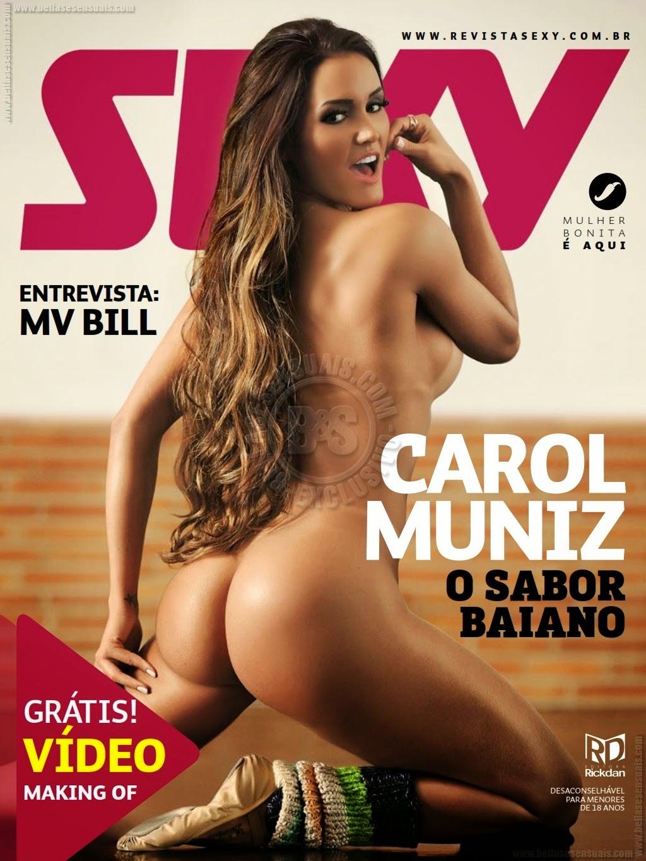 Carol Muniz [Ipad] – Revista Sexy – Julho 2014