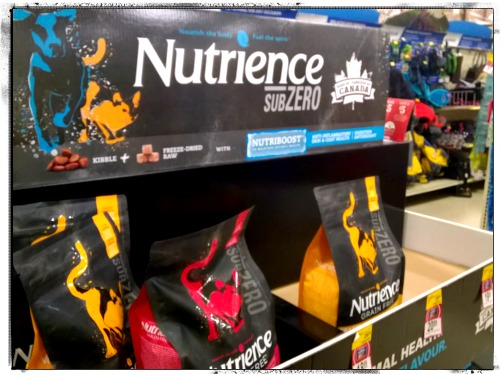 Nutrience SubZero cat food