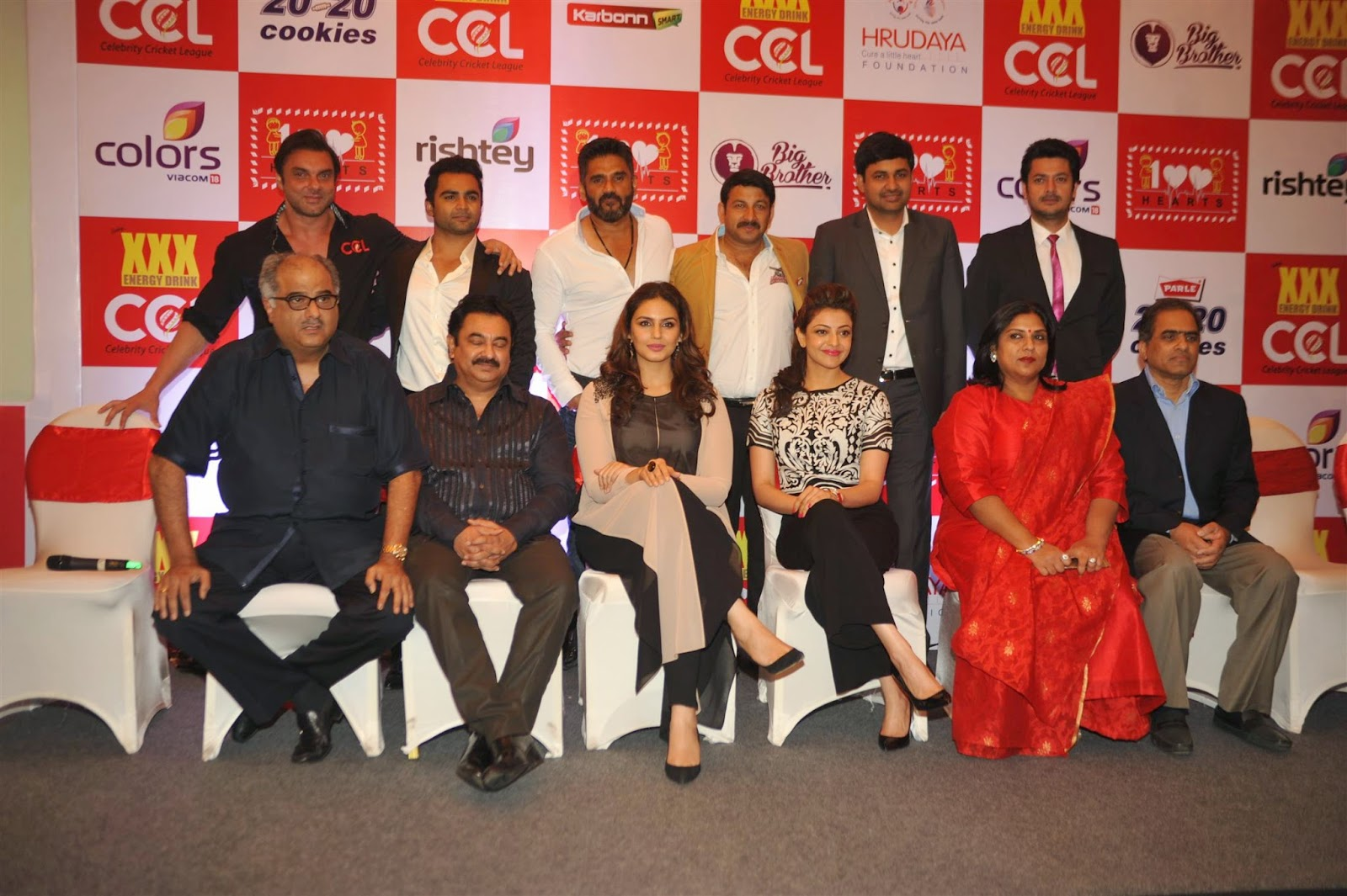 Celebs Launch of 100 Hearts A Social Initiative by CCL Pics