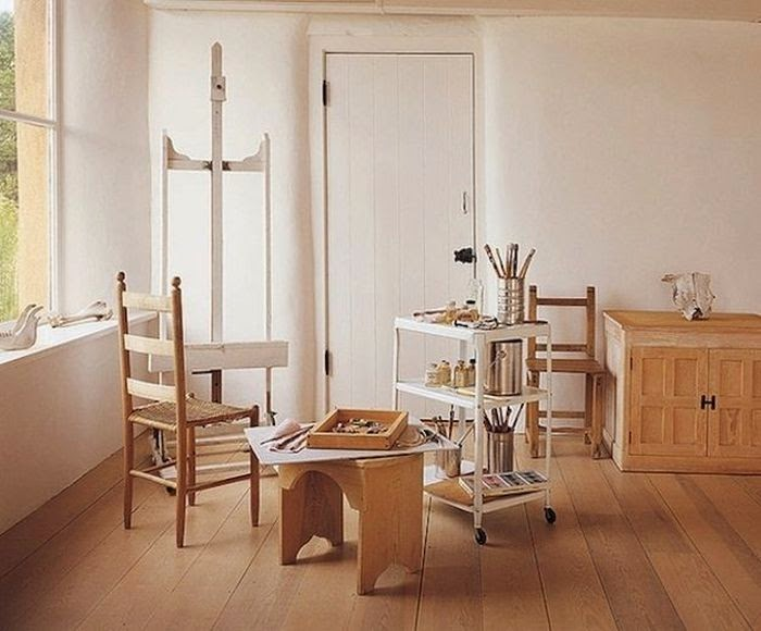 Workspaces Of The Greatest Artists Of The World (38 Pictures) - Georgia O'Keefe, painter